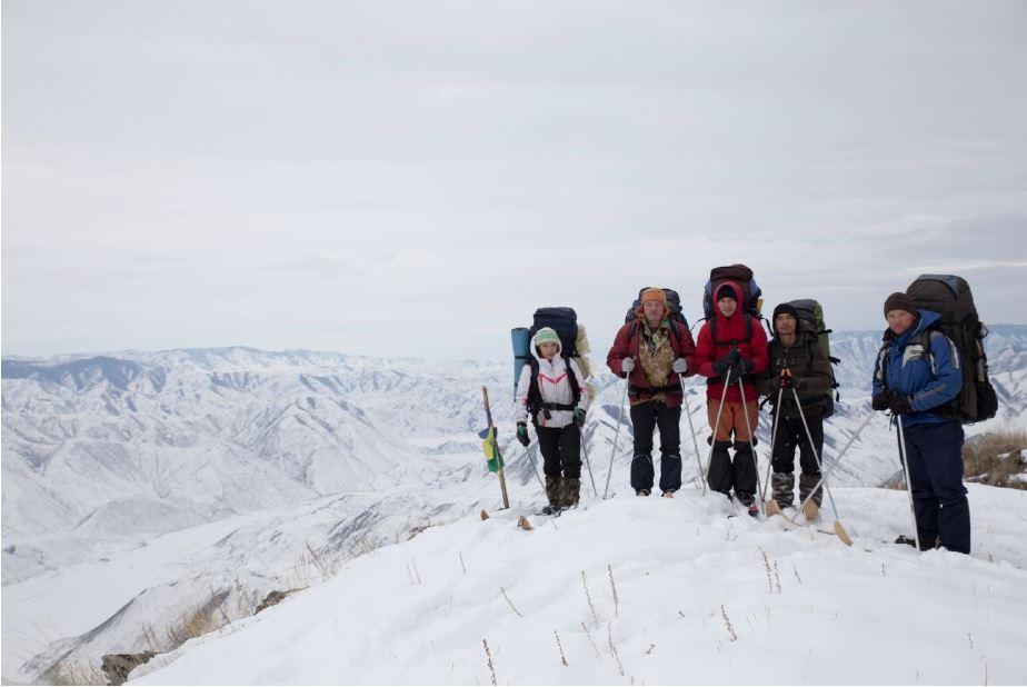 Лыжный поход 4 к.с. совершенном 7 - 25 марта 2015 года. Рук. Куюков Ю.С.